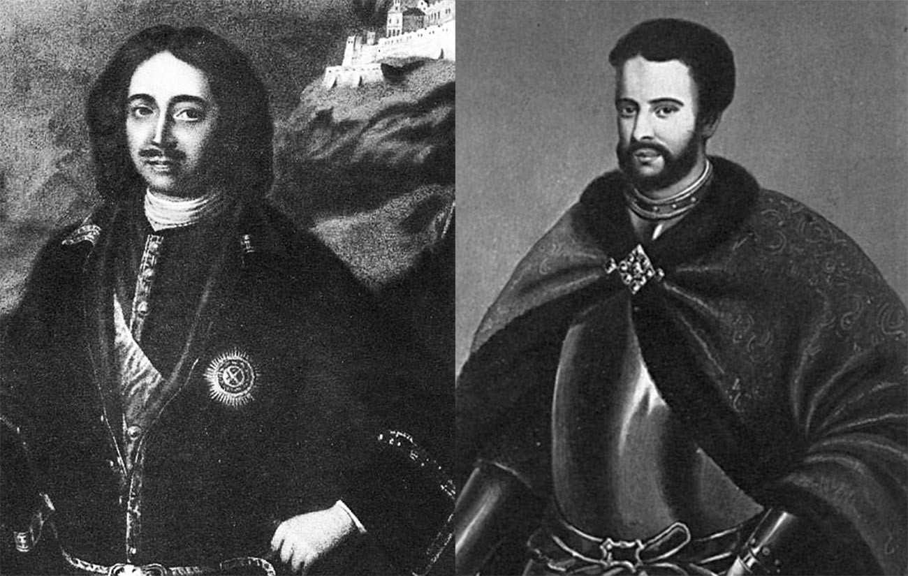 Peter the Great and Ivan V
