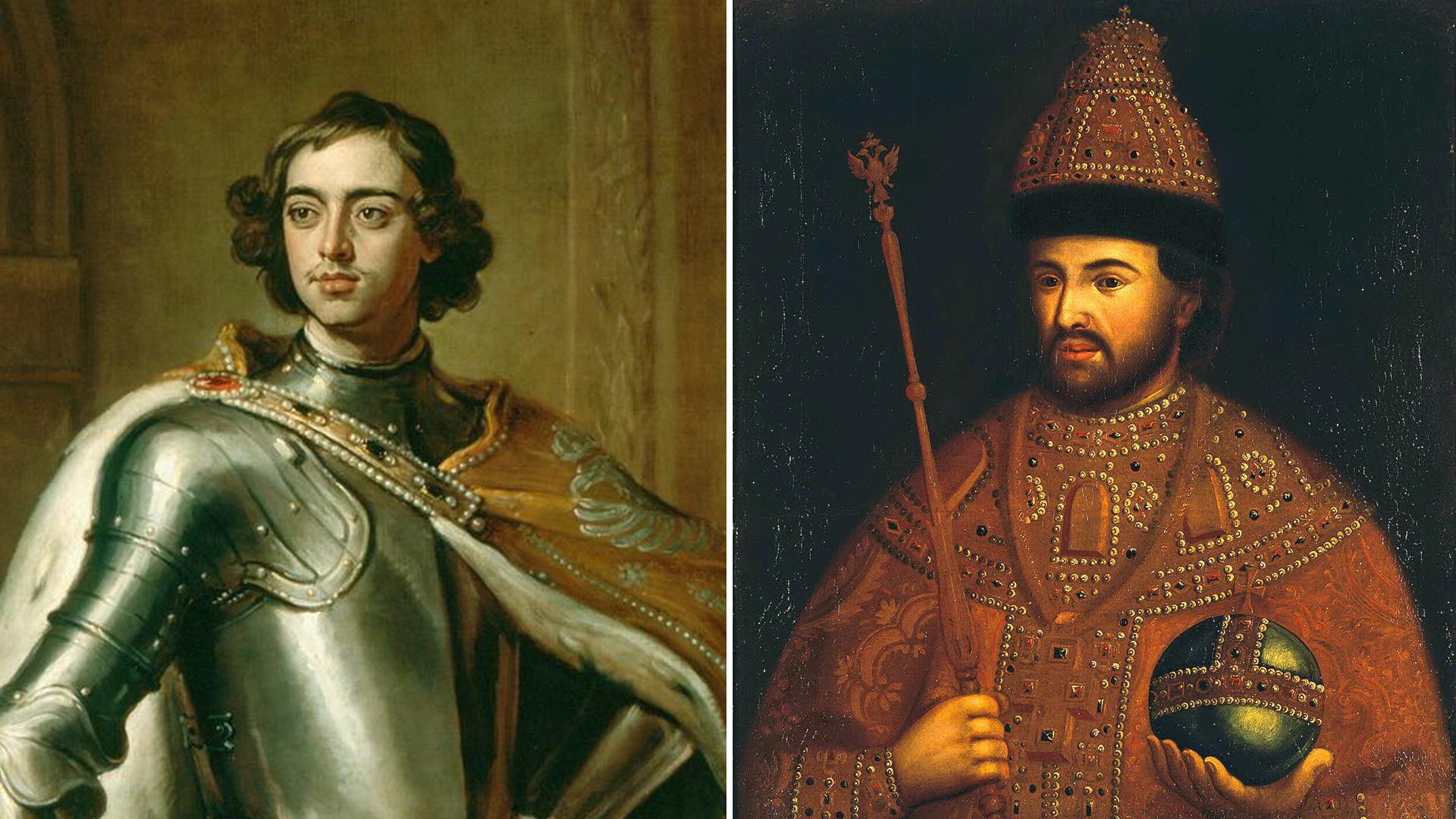 Gottfried Kniller. Peter and Ivan