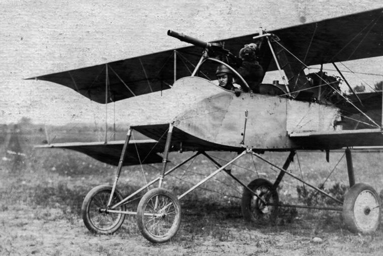 Voisin III bomber.