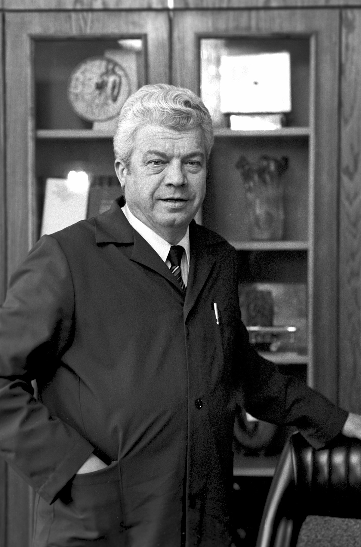 Ръководителят на АЗЛК Валентин Коломников.