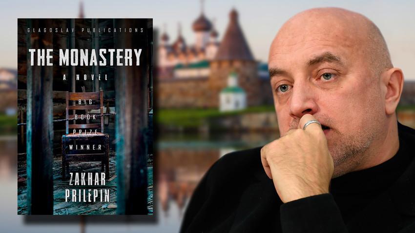 """Zahar Prilepin in letošnji angleški prevod njegovega romana """"Samostan"""""""