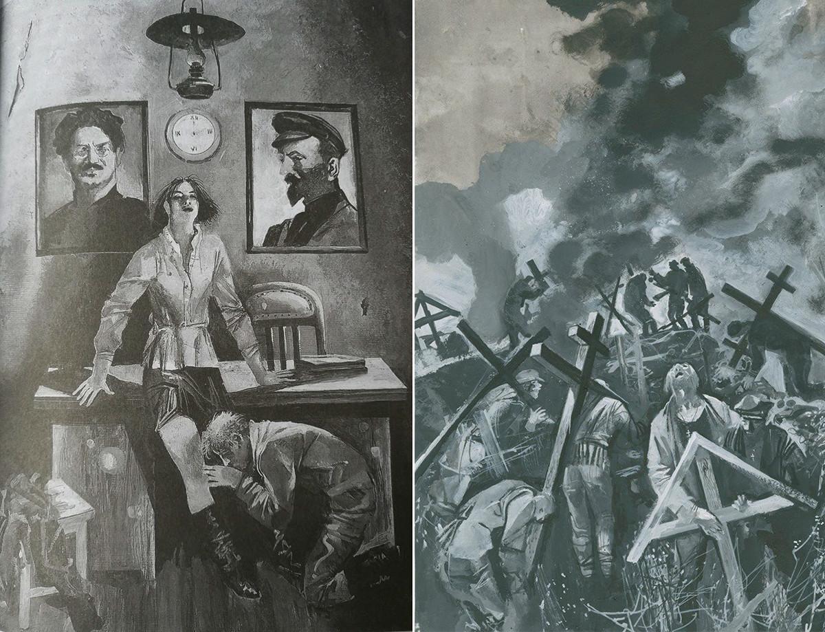 Ilustracije za novo rusko izdajo