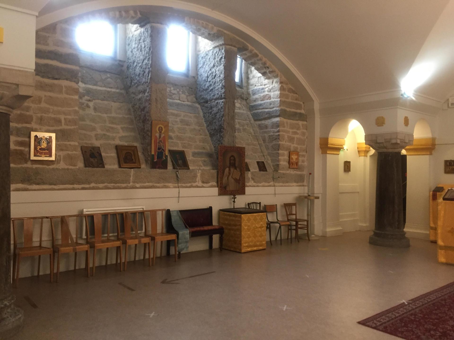Paroisse de la Protection de la Vierge Marie dans la chapelle St-Joseph des Brotteaux
