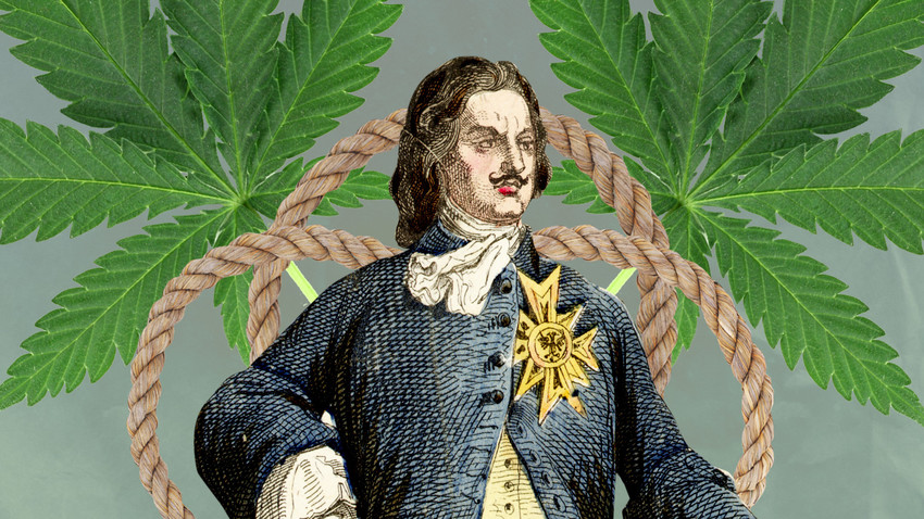Peter the Great knew how to use the plant for his material, not spiritual, needs.