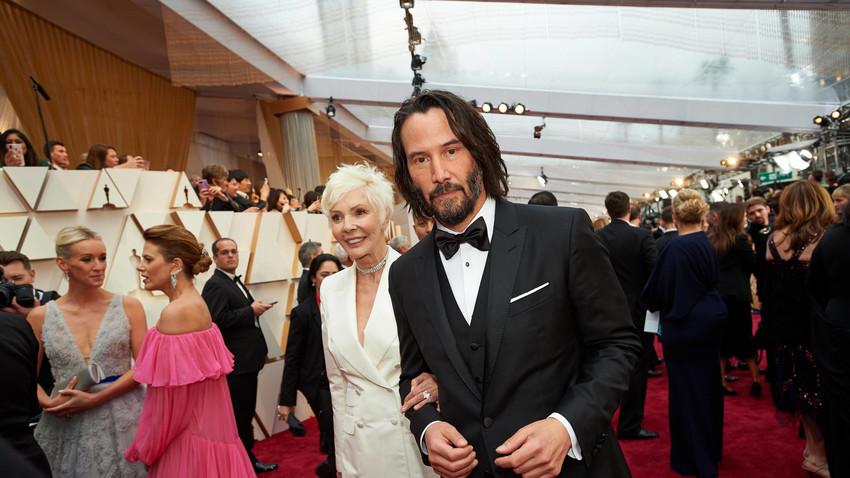 Patricia Taylor i Keanu Reeves