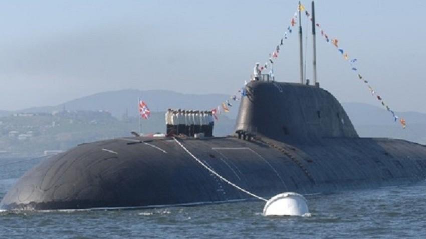 """Нуклеарна подморница из пројекта 971 (класа """"Штука-Б"""")."""