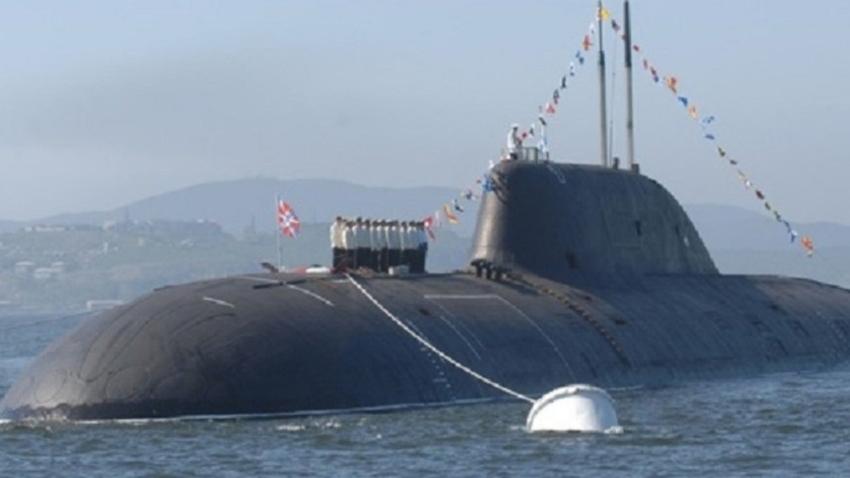 "Ядрена подводница от проект 971 (клас ""Щука-Б"")."