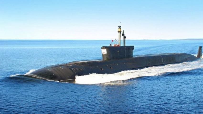 Руска подводница. Илюстрация