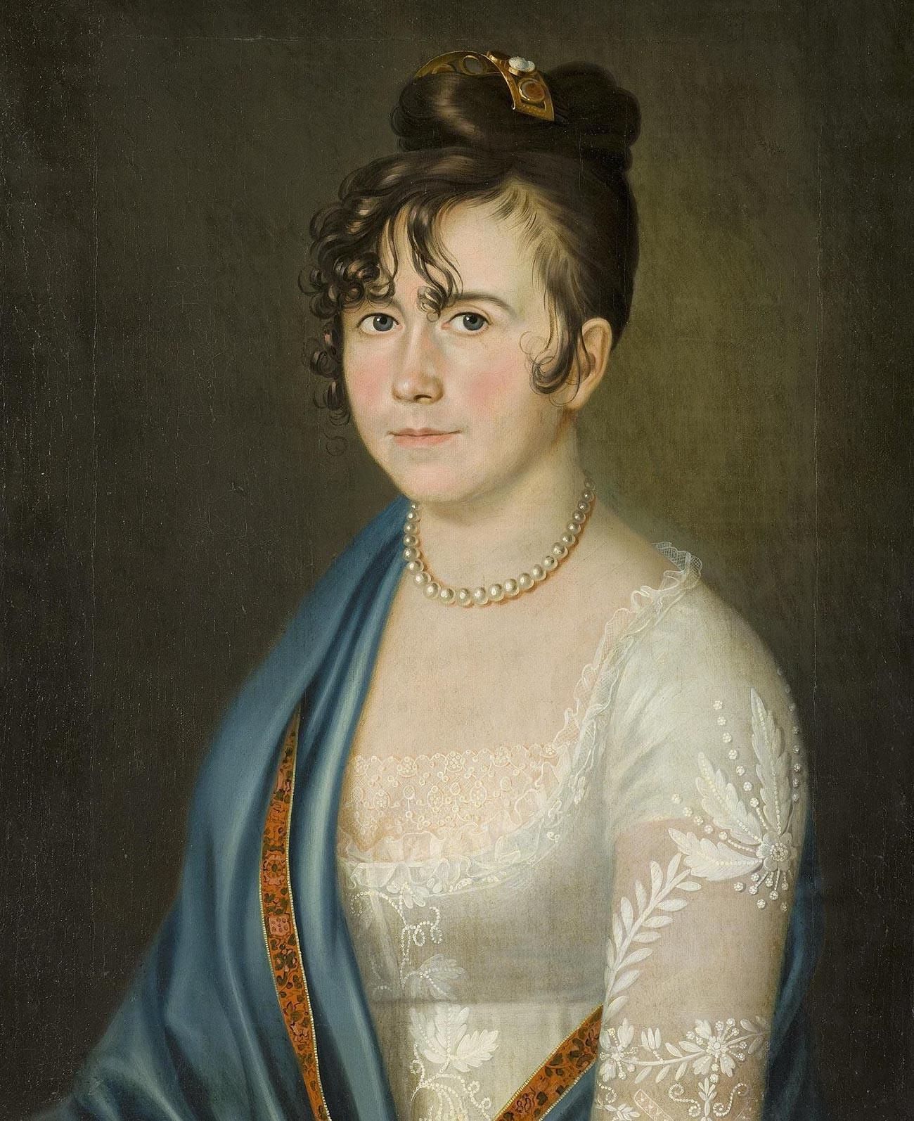 Anna Bobrinskaya (1769–1846), neé Anna Ungern-Sternberg, Alexey Bobrinsky's wife