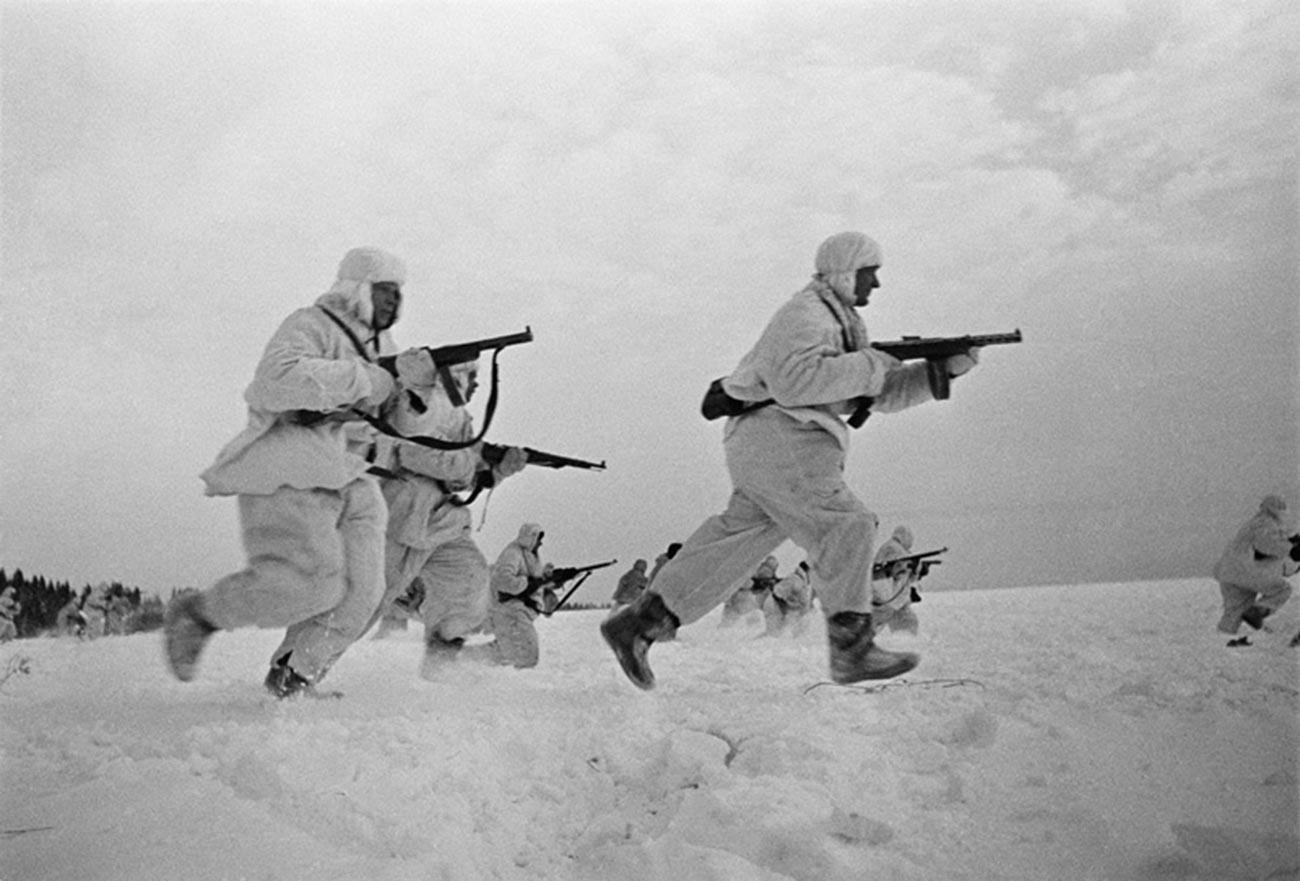 Bataille de Moscou, débarquement de la 5e armée