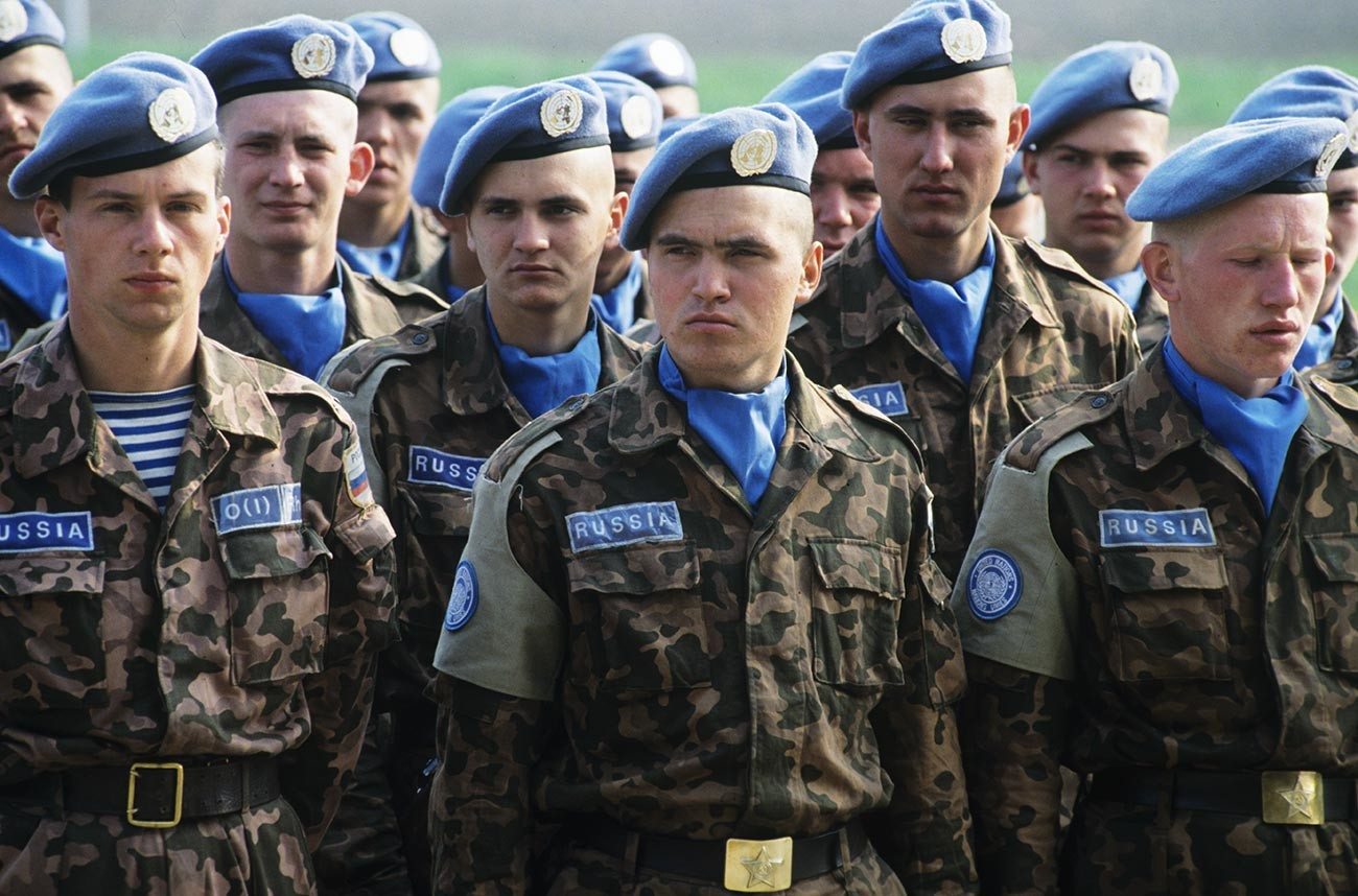 Bérets bleus en Yougoslavie