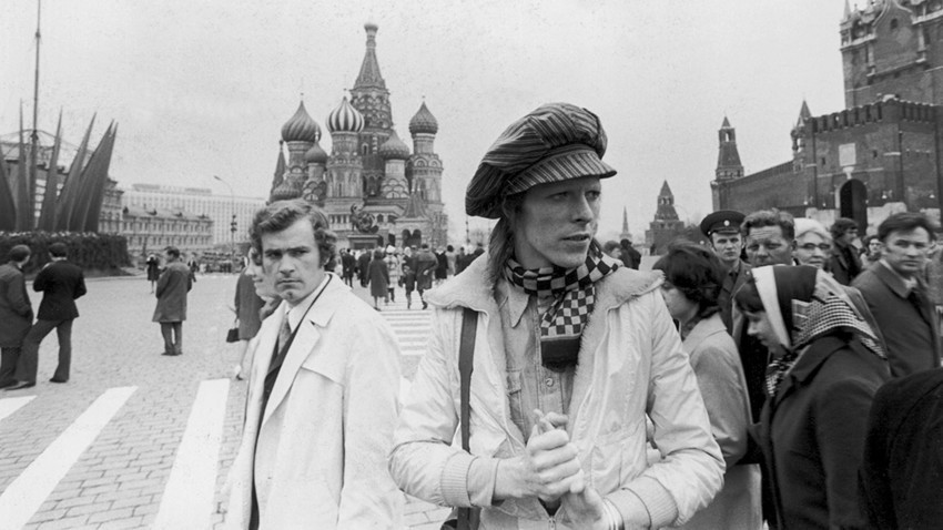 David Bowie v Moskvi