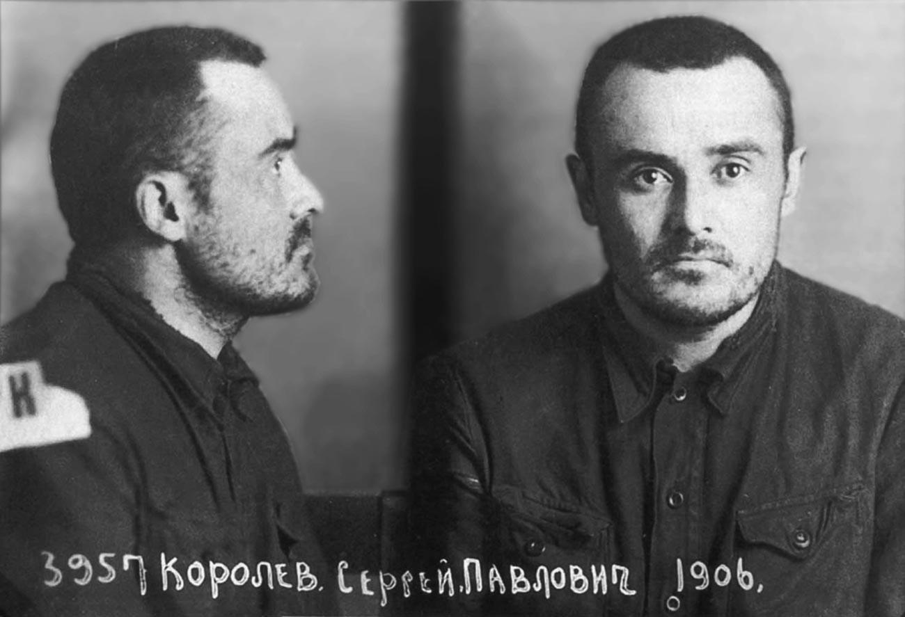 Заключенный Сергей Королев в 1940 году.