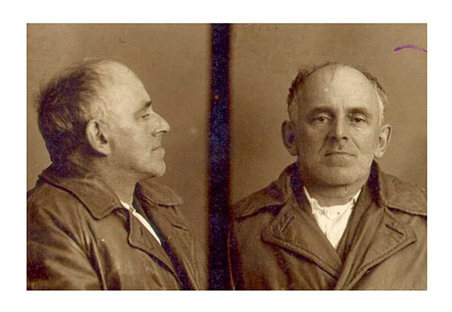 Portret Osipa Mandelštama v arhivih NKVD