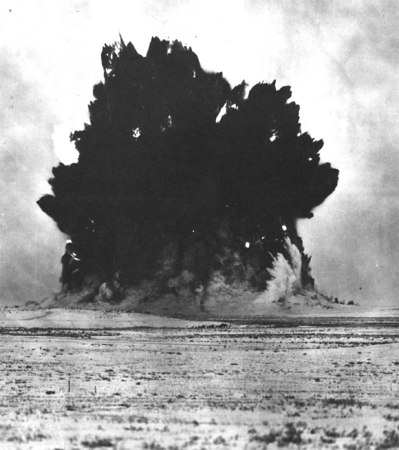Изпитание 1004 - първата съветска ядрена експлозия за националната икономика