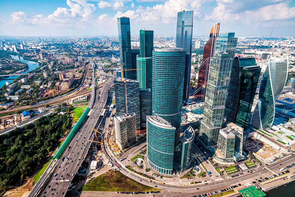 Панорама Москва-Ситија