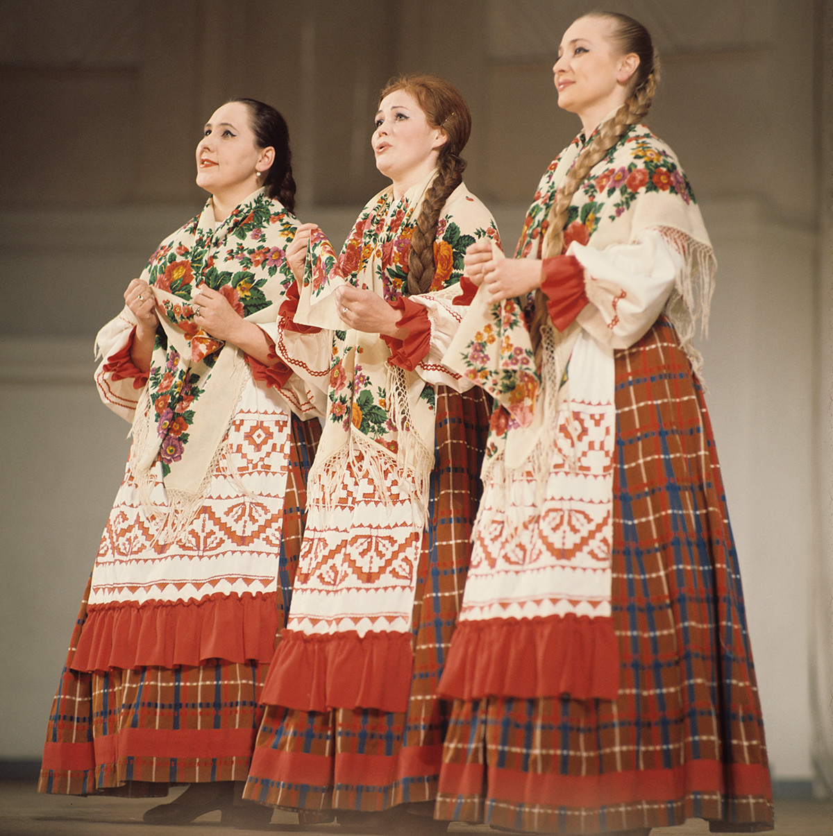 Chœur traditionnel russe, 1970