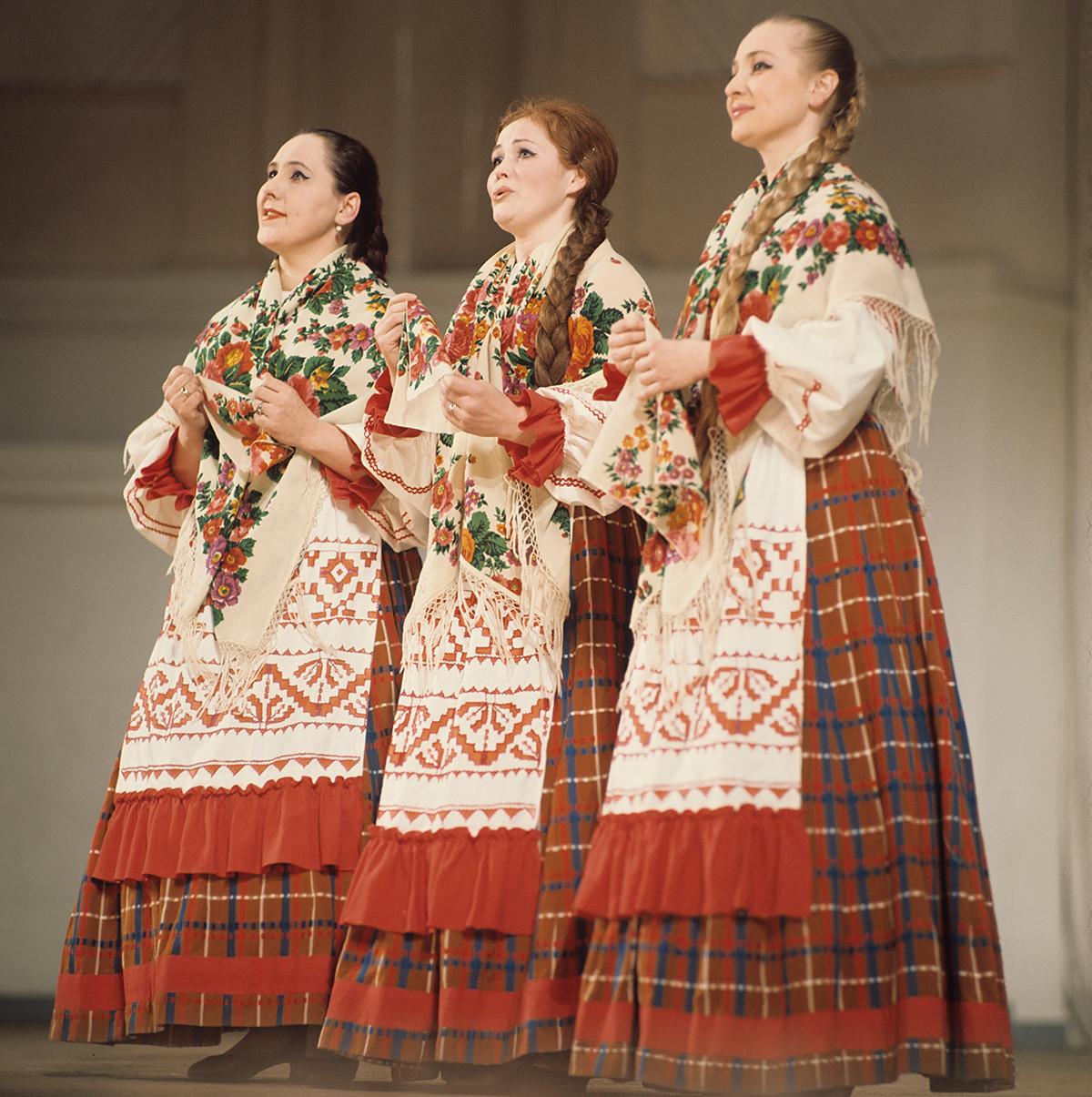 Chœur traditionnel russe, 1970