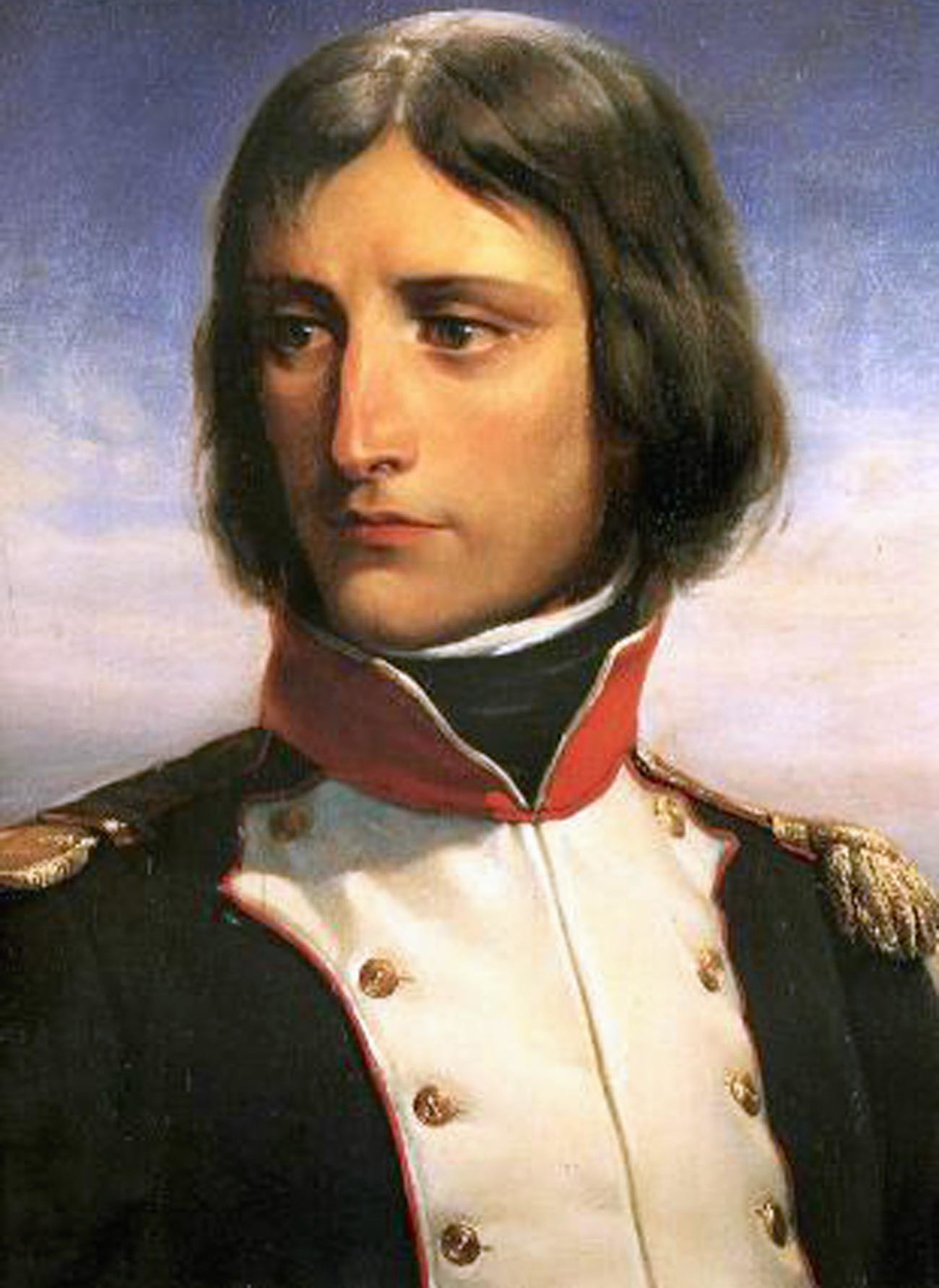 Napoléon Bonaparte leta 1792 kot podpolkovnik 1. bataljona francoske nacionalne garde