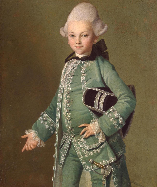Alexej Bobrinskij im Alter von 7 Jahren von Carl-Ludwig Christinek