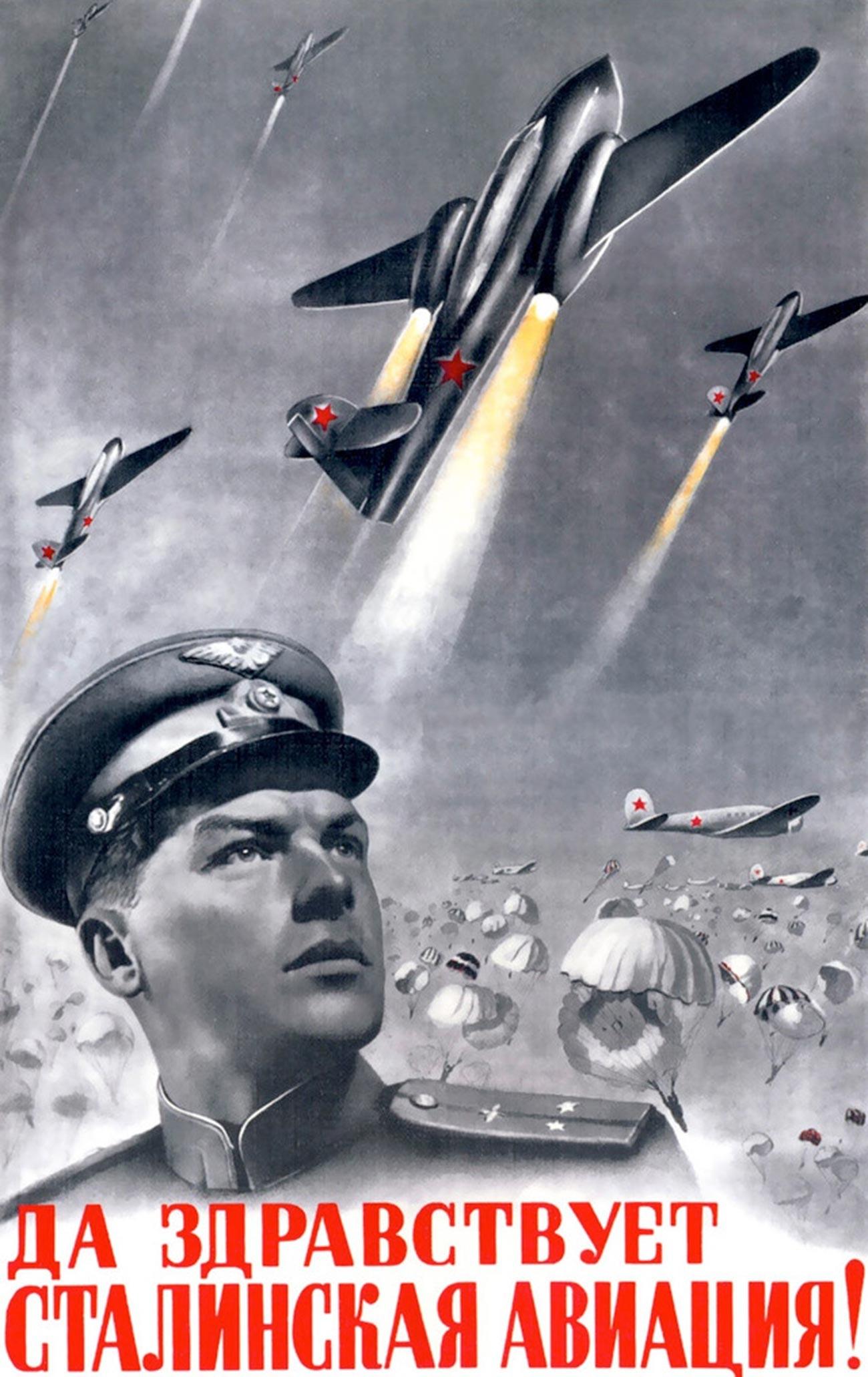 « Vive l'aviation de Staline ! »