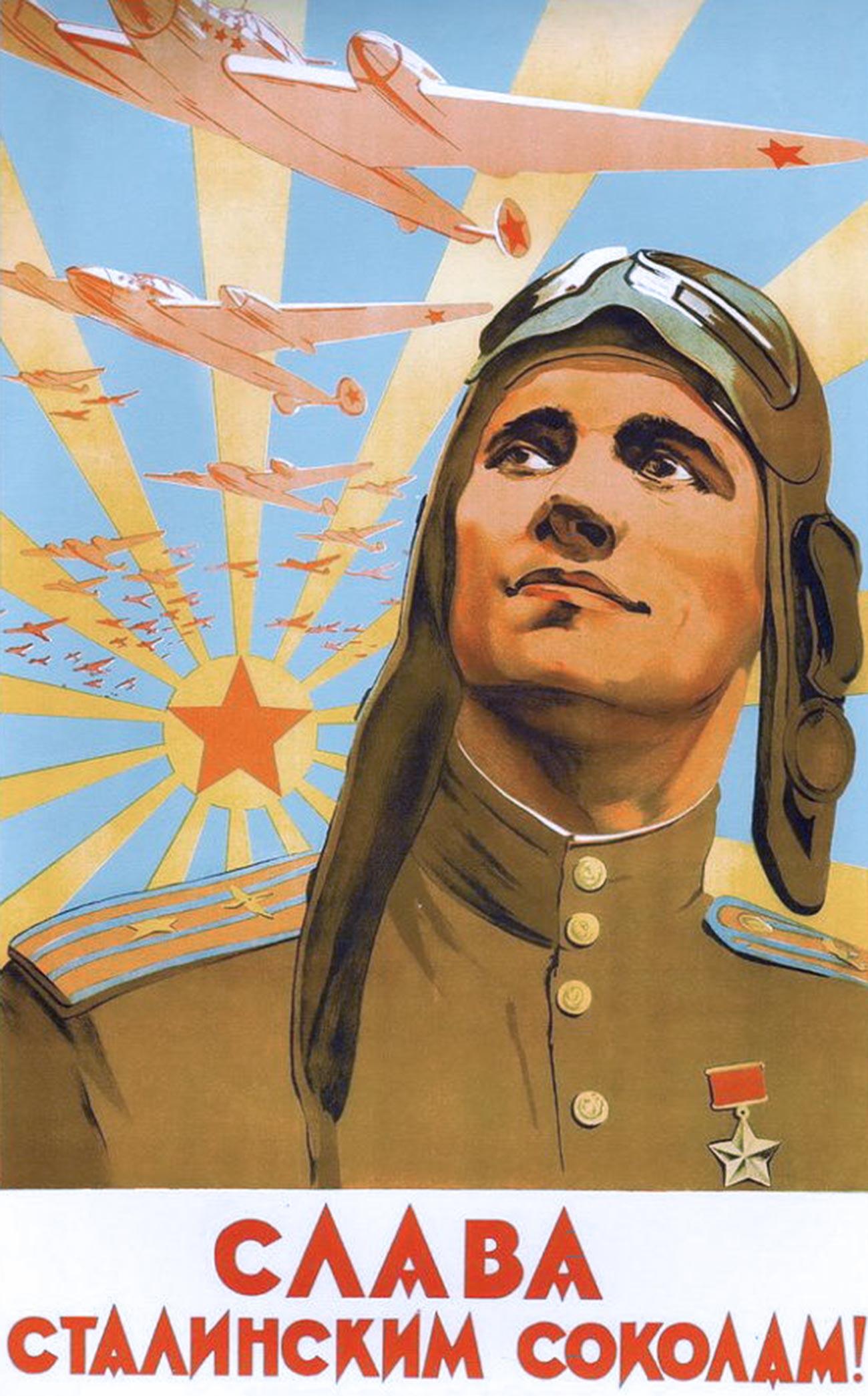 « Gloire aux faucons de Staline ! »
