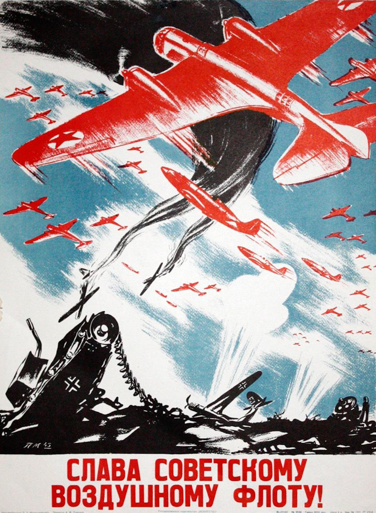 « Gloire à la flotte aérienne soviétique ! »