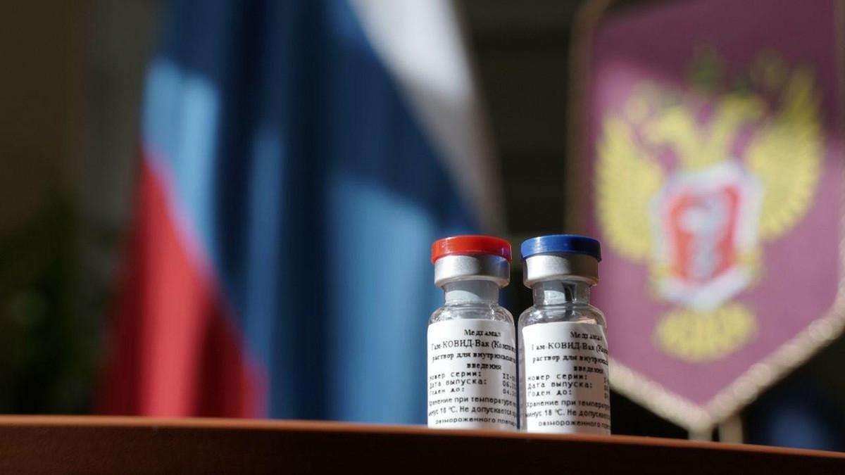 Прва на свету вакцина против инфекције новим корона вирусом регистрована је 11. августа у Русији. Руска вакцина од корона вируса ће за грађанство бити пуштена у промет 1. јануара 2021. године, на основу државног регистра медицинских препарата Министарства здравља РФ.