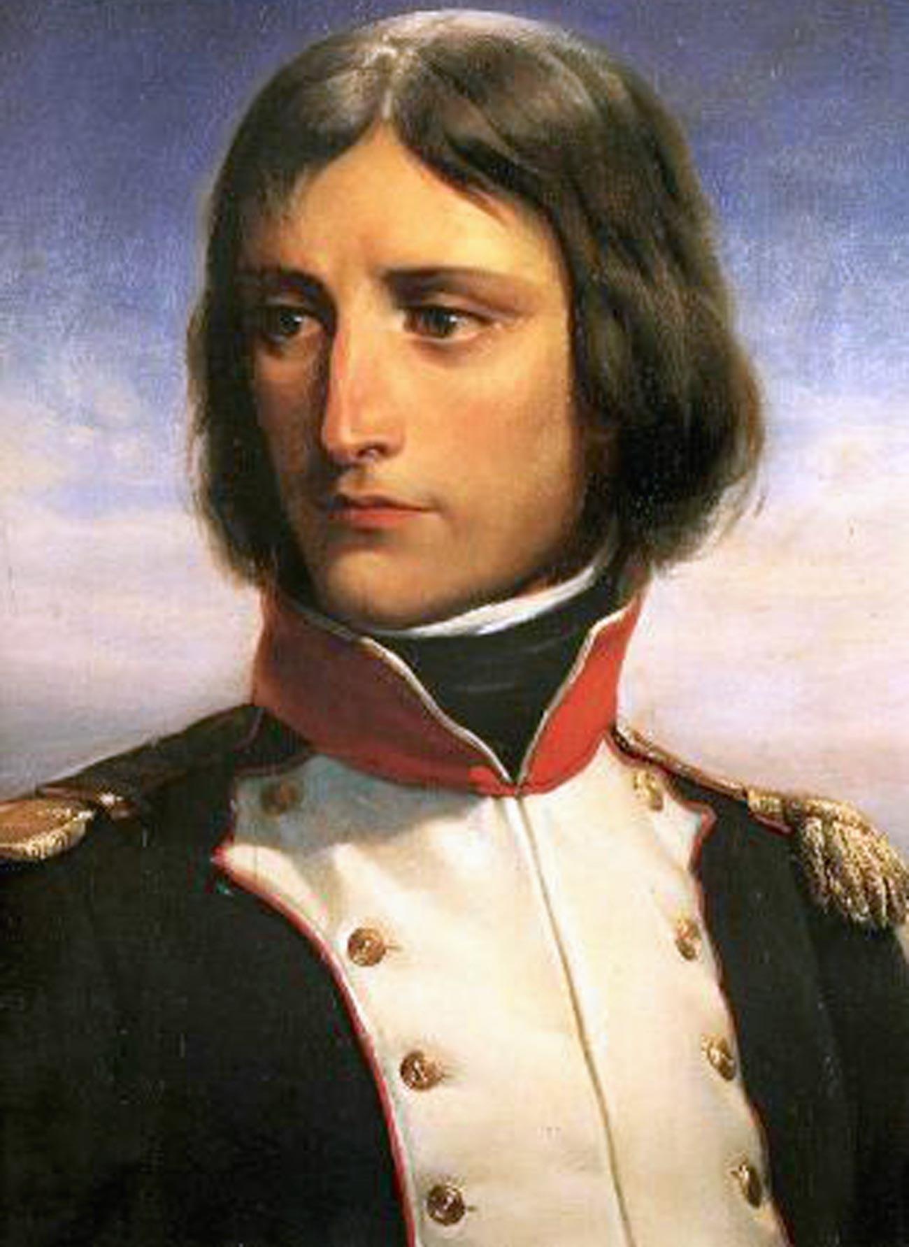 Bonaparte em 1792, como tenente-coronel do 1º Batalhão da Guarda Nacional Francesa