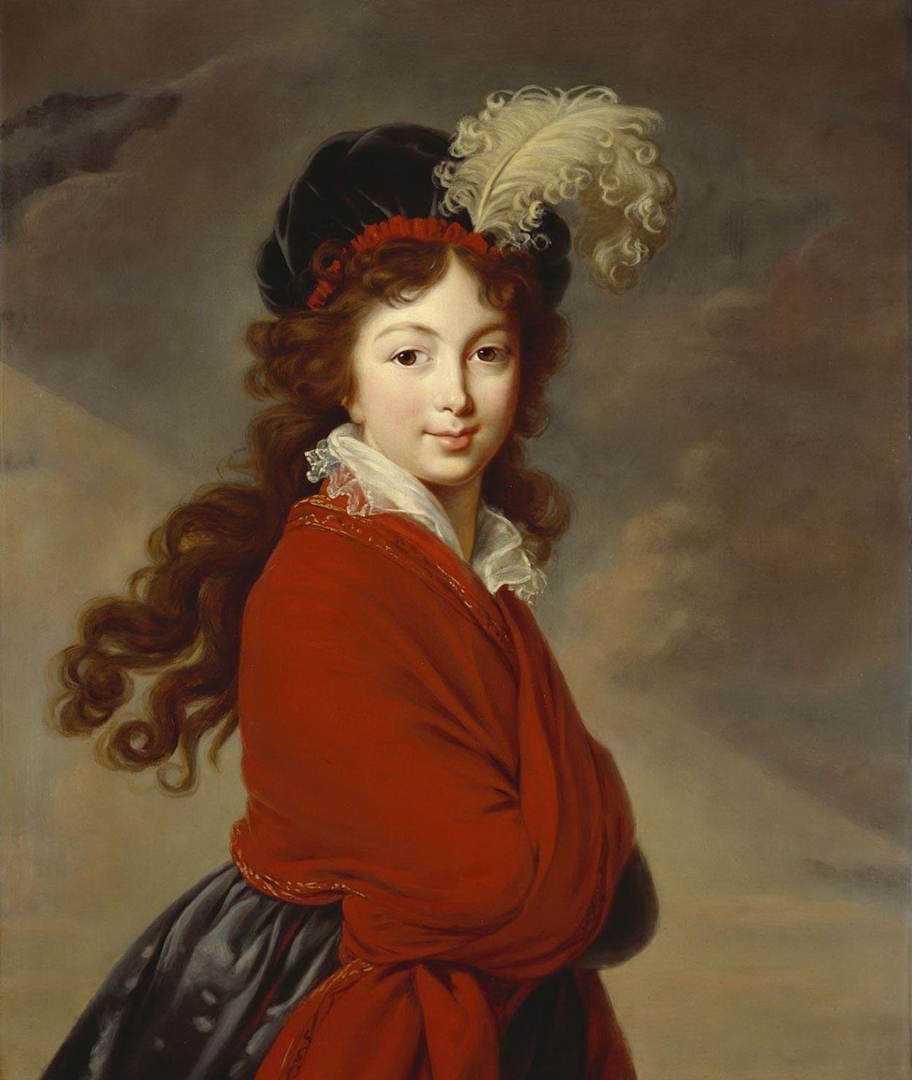 Grand Duchess Anna Fyodorovna (nee Juliane of Saxe-Coburg-Saalfeld)