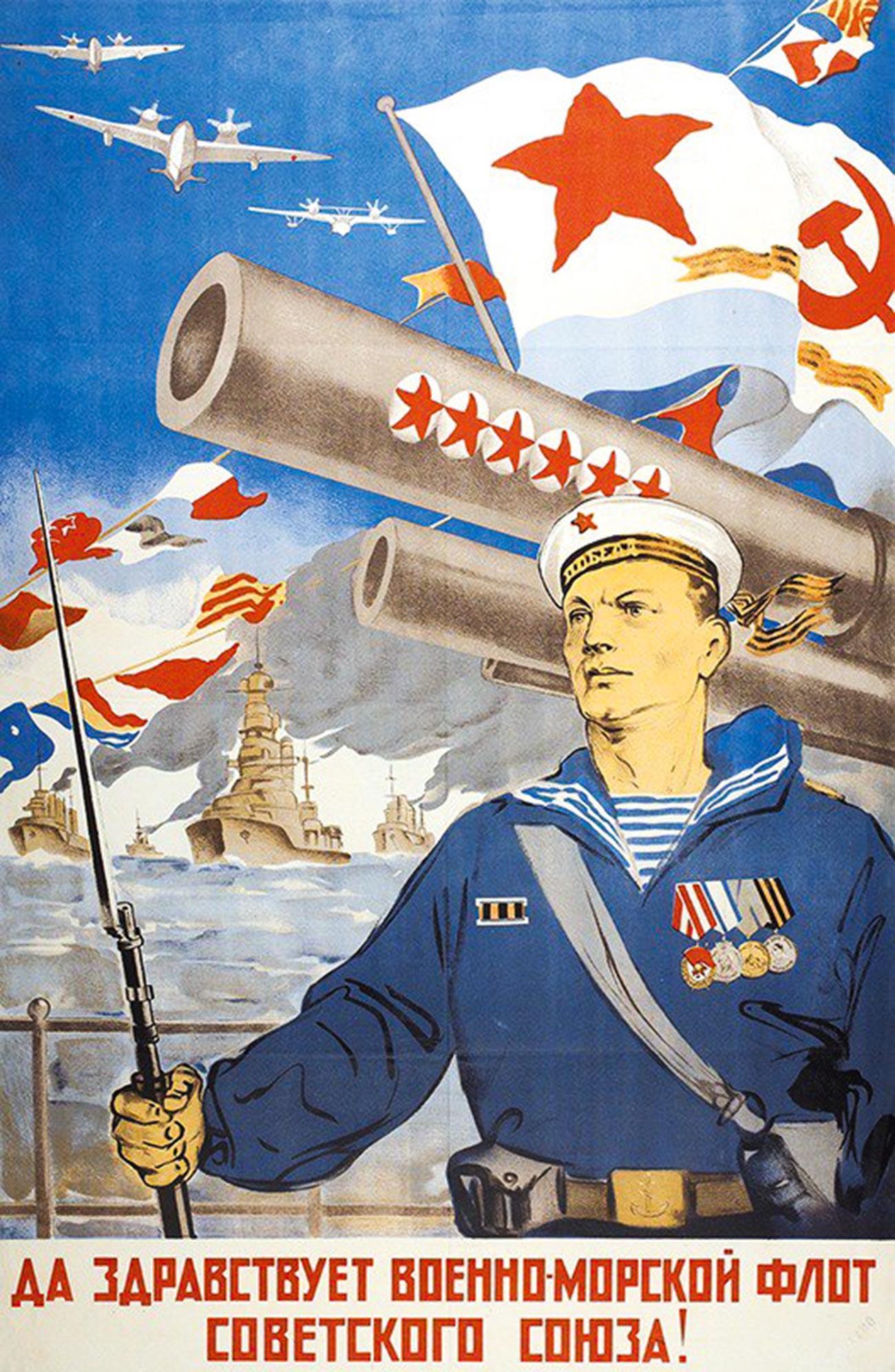 « Vive la marine de l'Union soviétique ! »