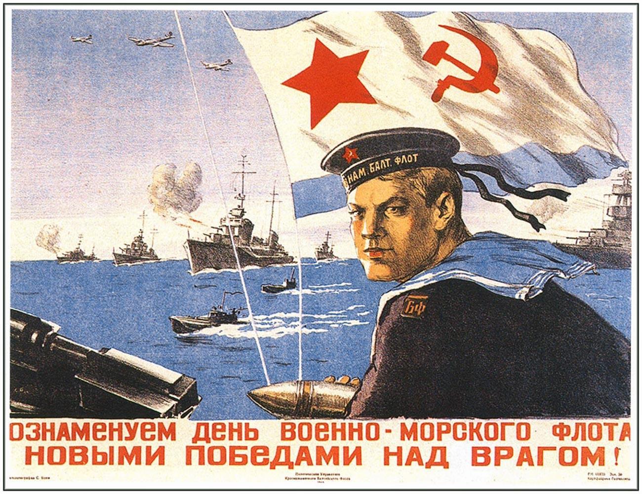 « Célébrons la Journée de la marine avec de nouvelles victoires sur l'ennemi ! »