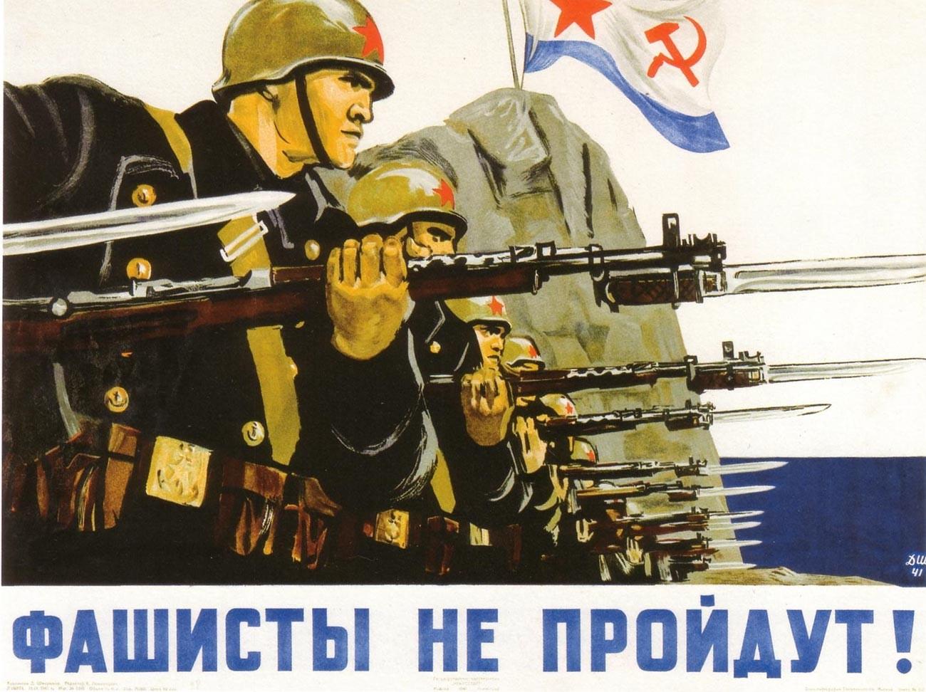 « Les fascistes ne passeront pas ! »