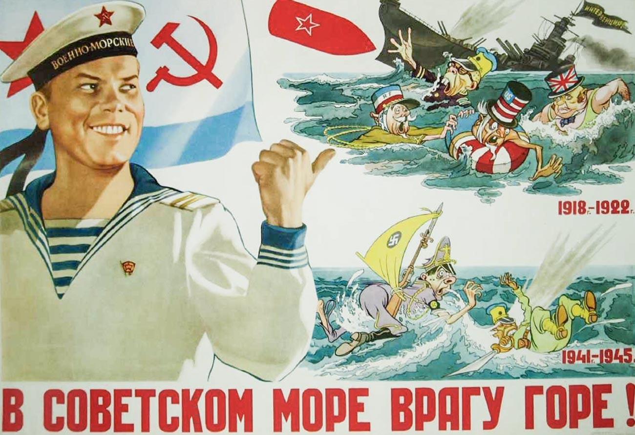 « Dans la mer soviétique, l'ennemi aura du chagrin ! »