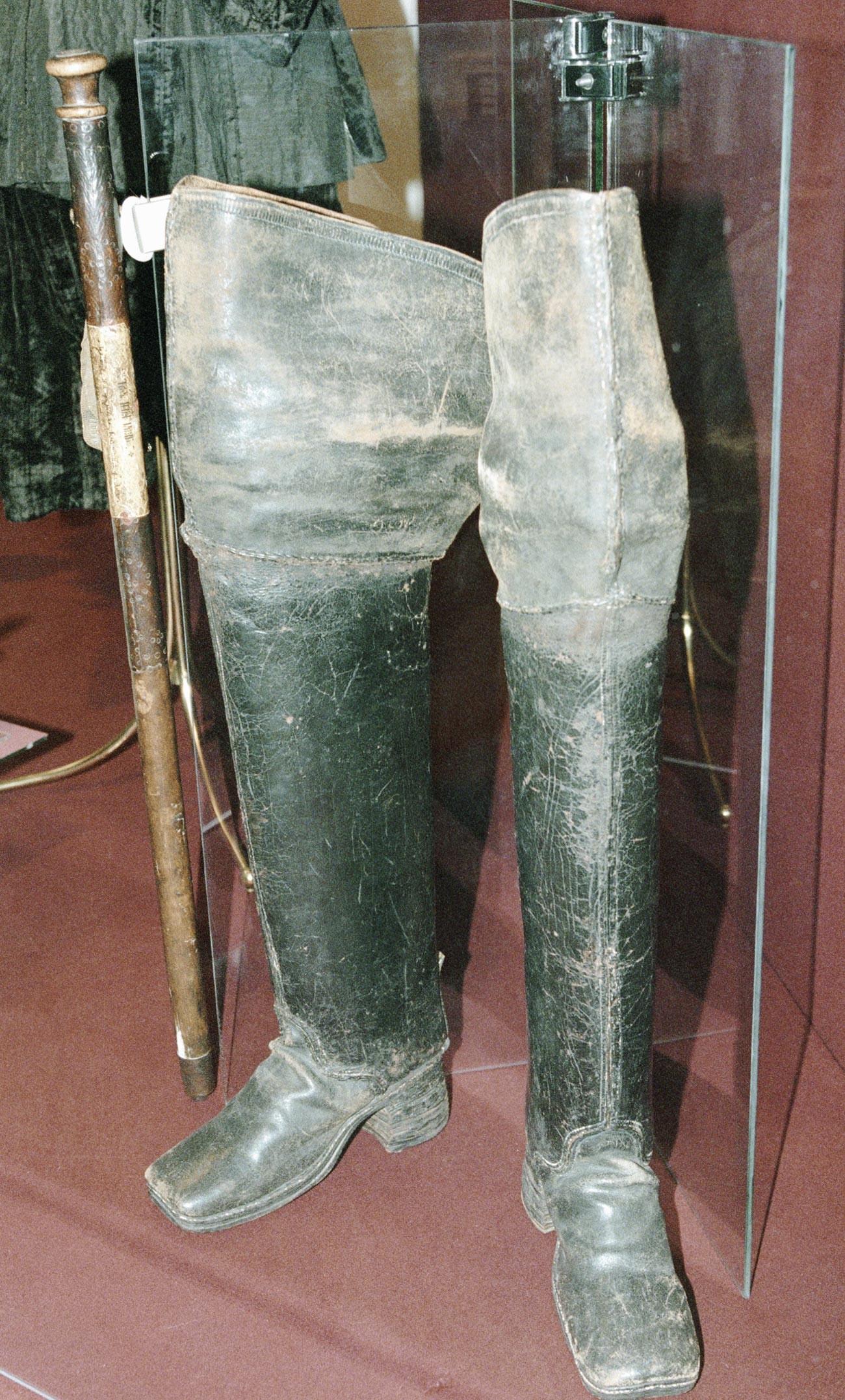 Gli stivali di tela di iuta di Pietro il Grande