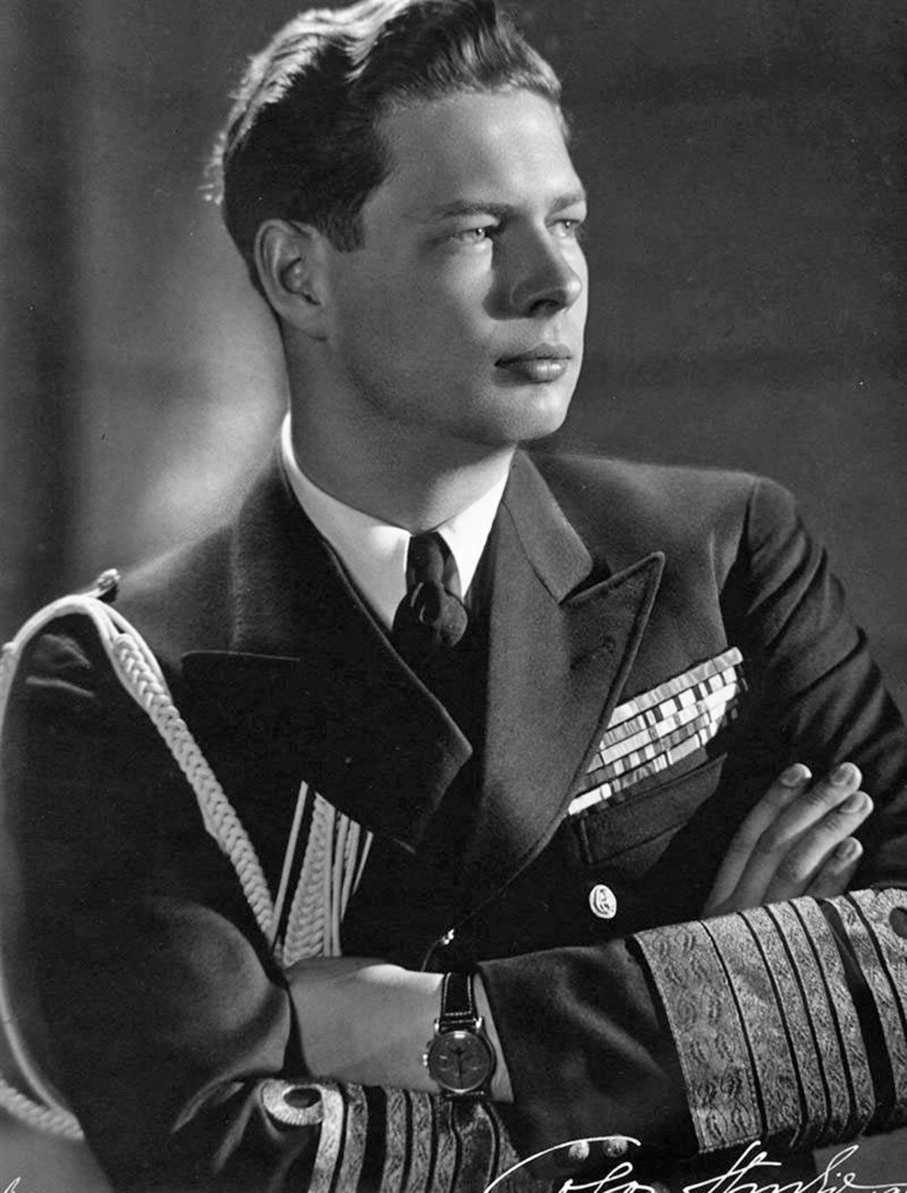 Romanian king Mihai I.