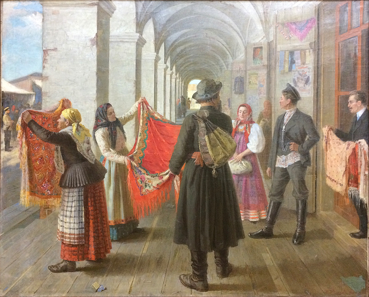 Scelta del corredo per la dote, Nikolaj Bekrjashev