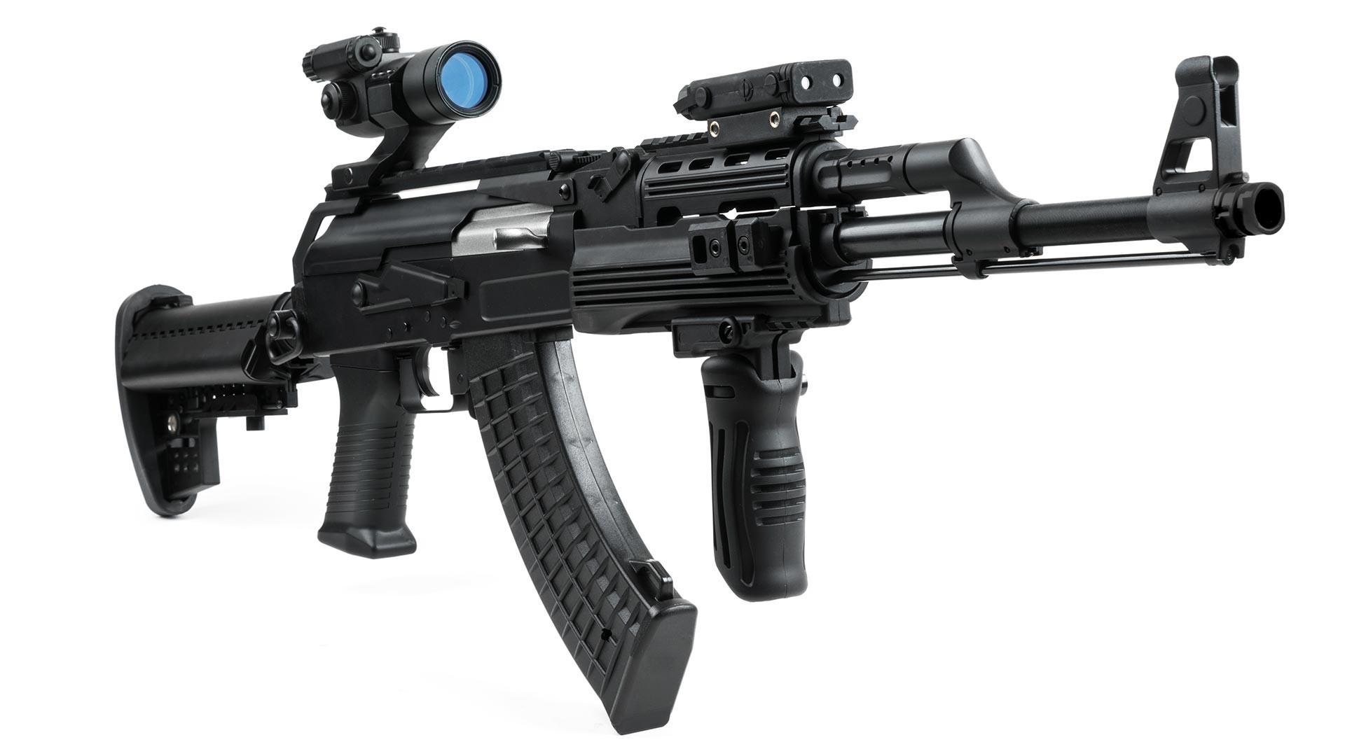 改良されたAK-47