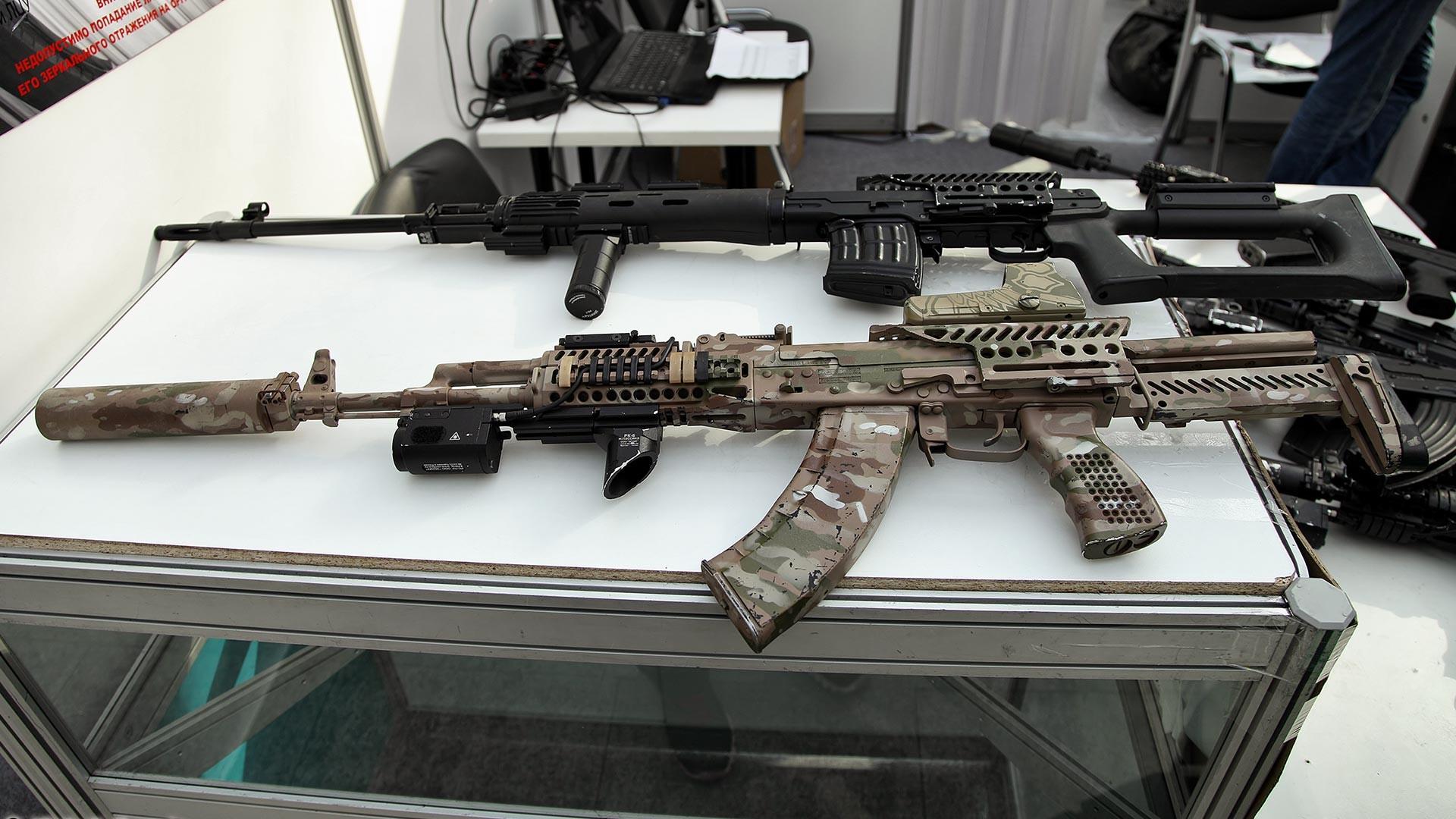 Zenitco社が改良した銃