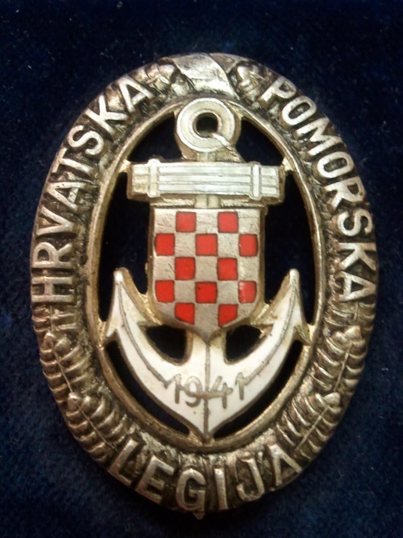 Insignia de la Legión Naval Croata