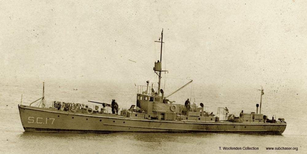 El 6 de diciembre de 1941, los cazasubmarinos búlgaros de construcción estadounidense (clase SC-1) Belomorets y Chernomorets hundieron con cargas de profundidad al submarino soviético Shch-204.