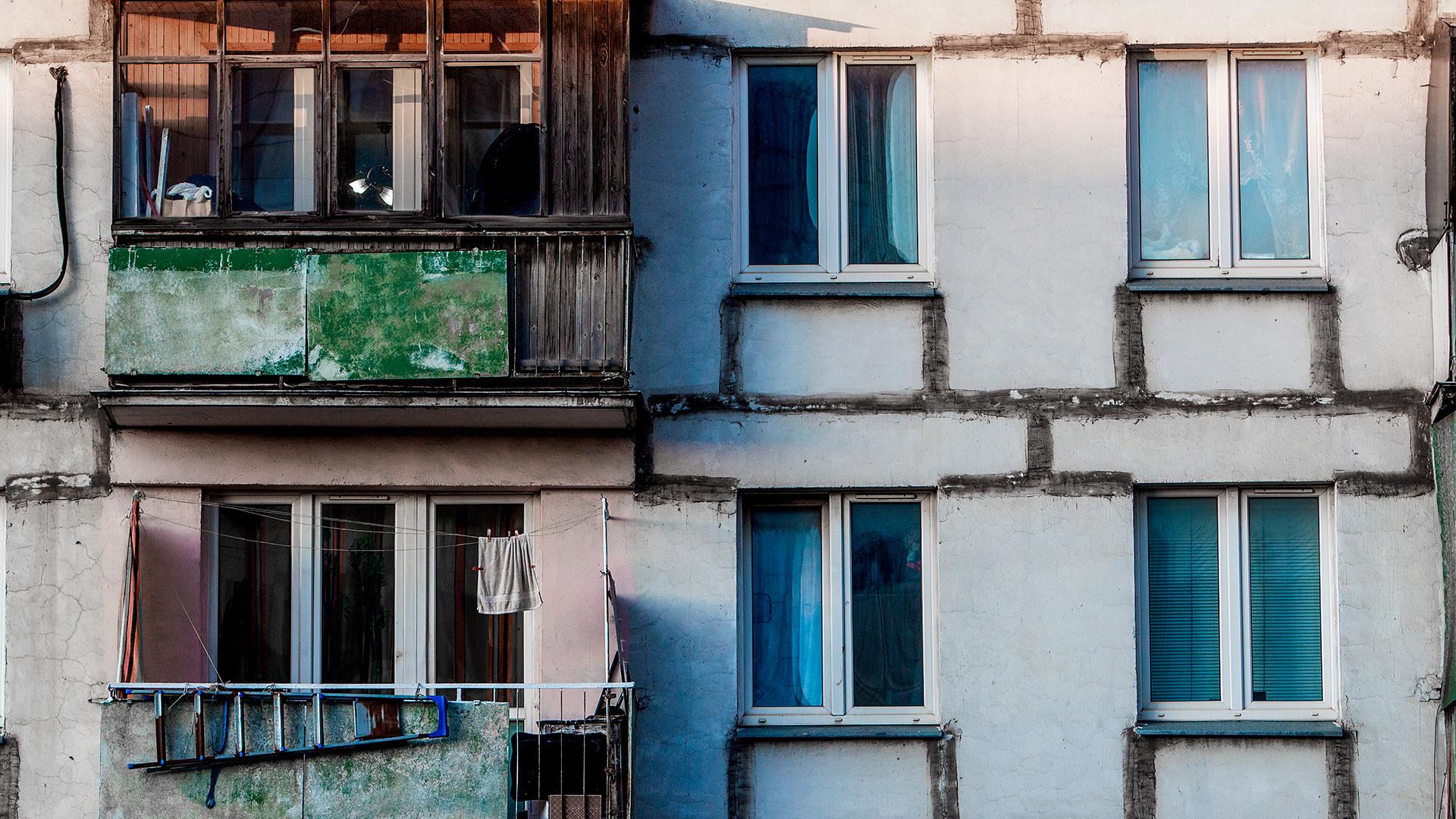Stara hruščovka v Moskvi