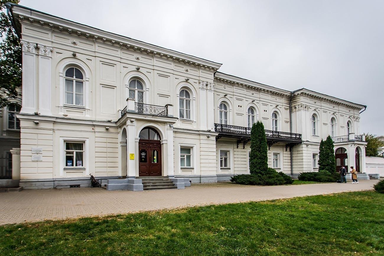 Glavna upravna zgradba v Novočerkasku, kjer je prišlo do streljanja