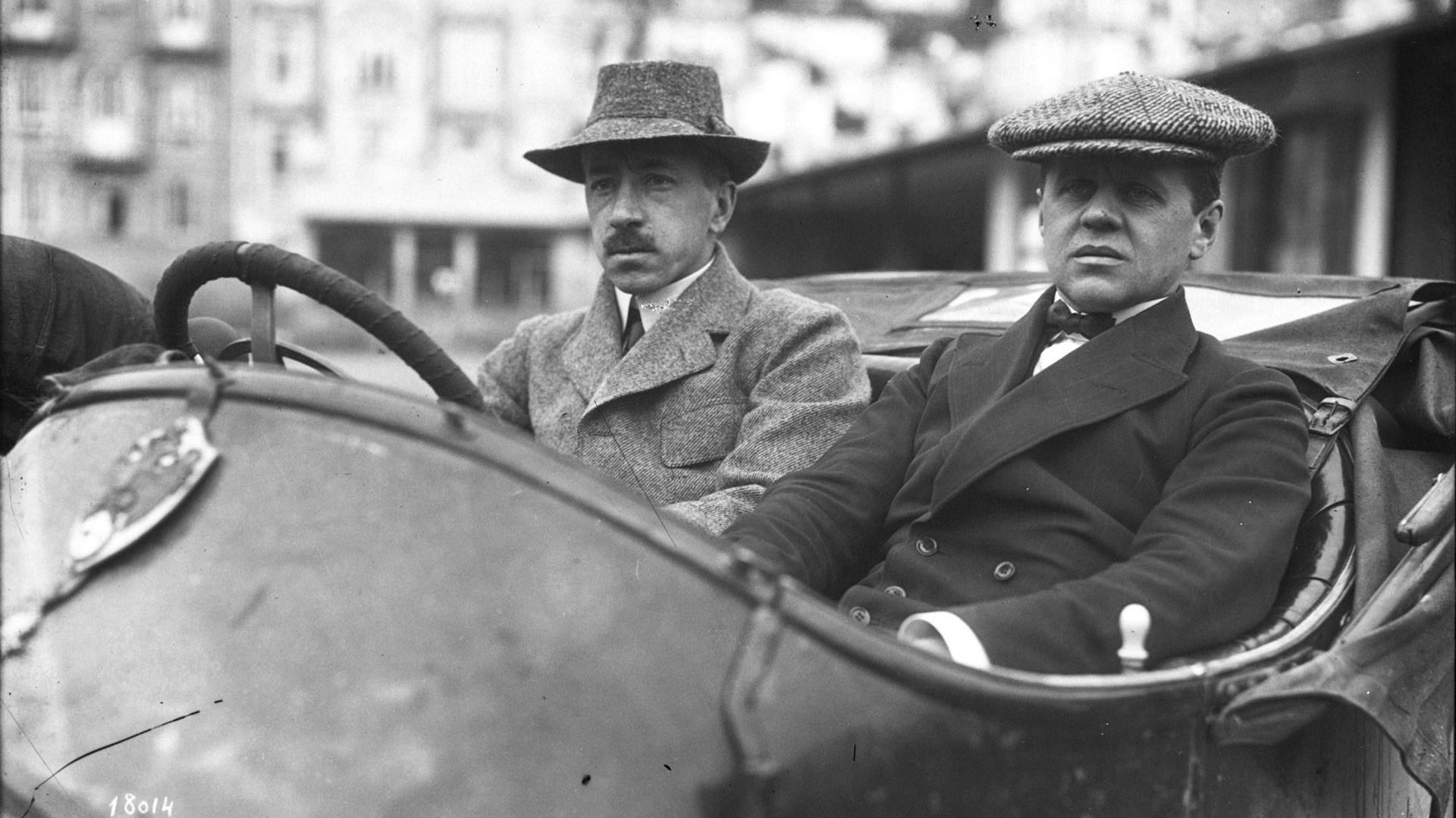 Andreï Nagel (à gauche)