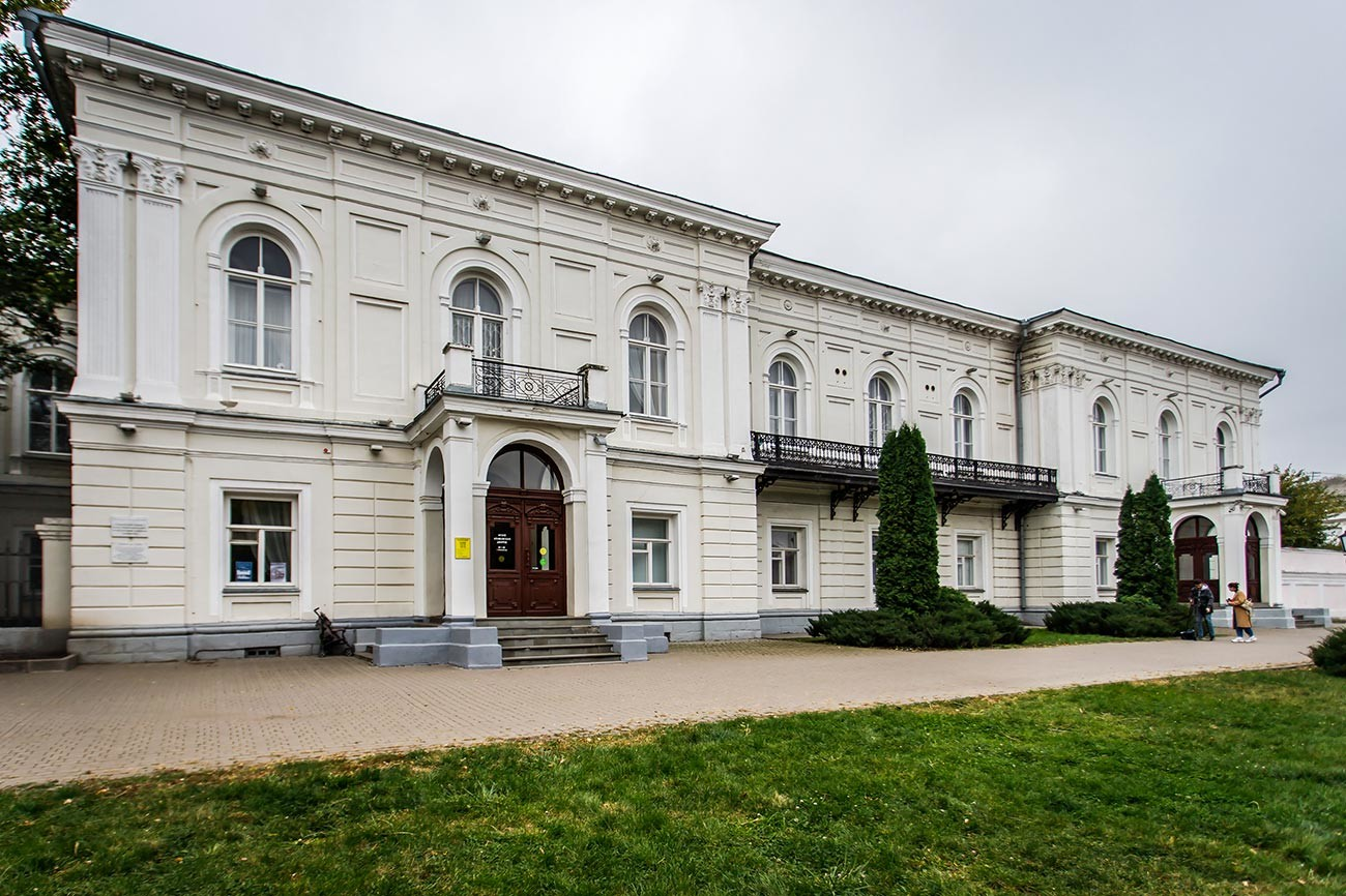 Musée de l'ataman, bâtiment administratif pris d'assaut par les grévistes