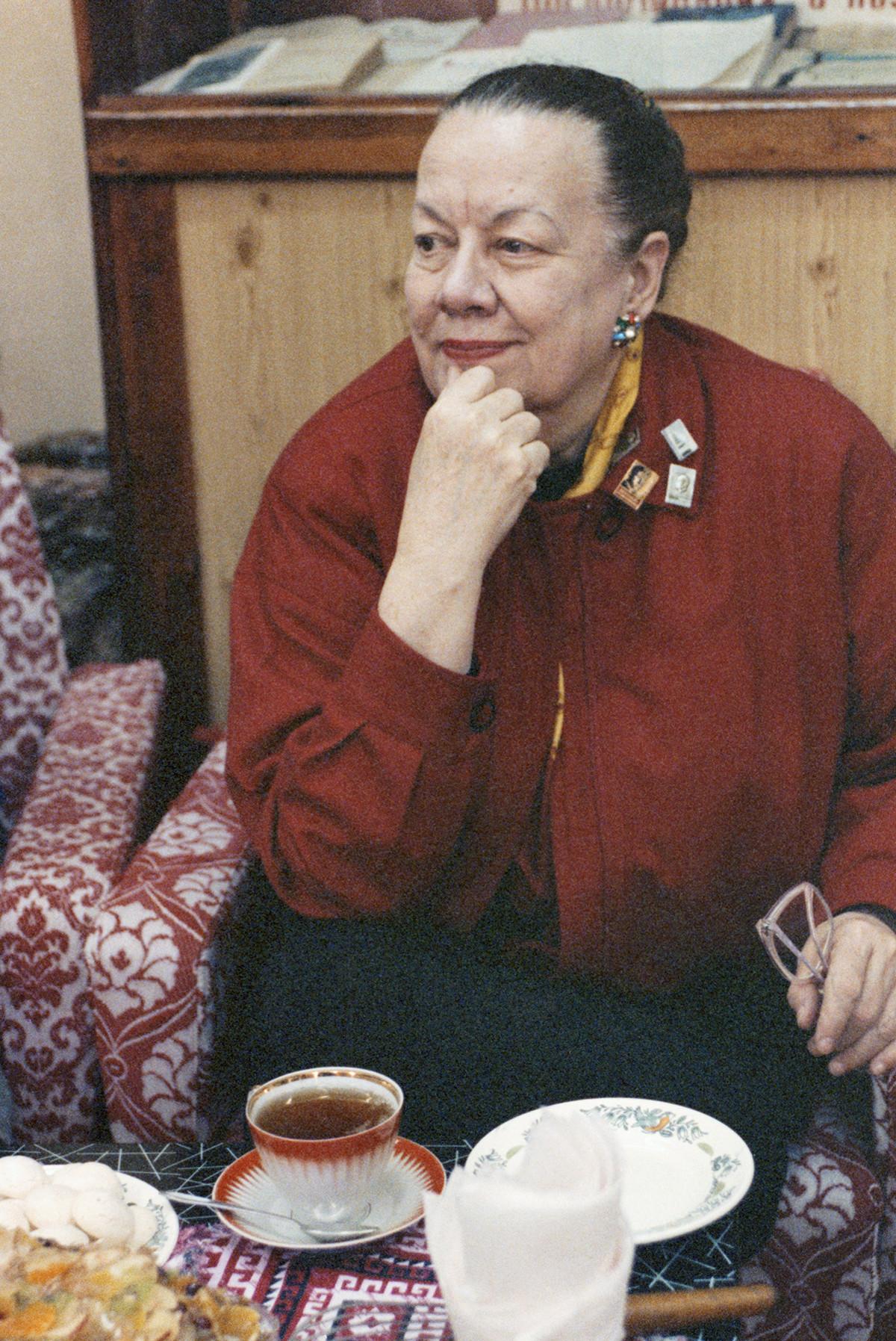 Patricia Tompson, daughter of Mayakovsky