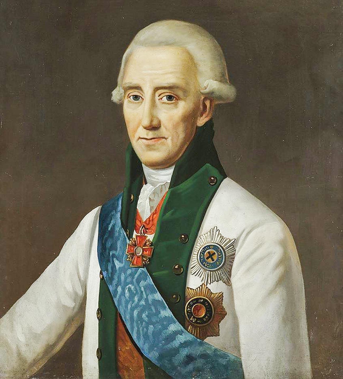 Портрет на адмирал Василий Яковлевич Чичагов