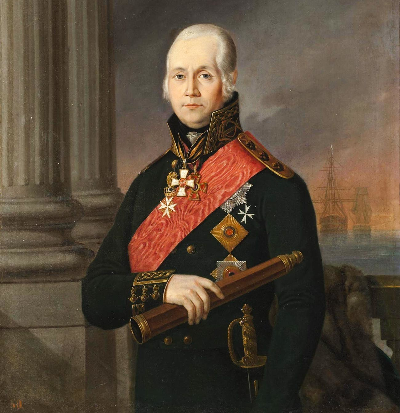 Портрет на адмирал Ф.Ф. Ушаков