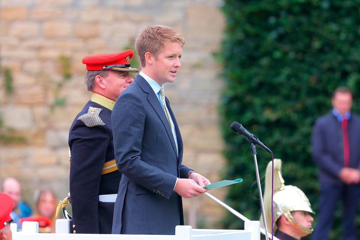 Hugh Richard Louis Grosvenor, 7º Duque de Westminster.