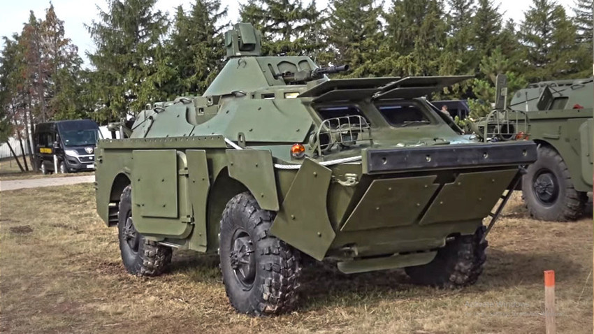 БРДМ-2МС Војске Србије